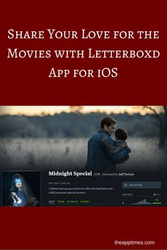 A look at the newly released Letterboxd app for iOS that lets you find popular movies, write reviews and share your love for the movies with the community.