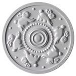 handpainted ceiling medallions home decor-Marie Ricci Collection