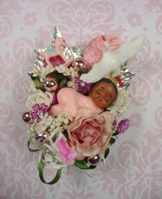 baby shower corsages | Request a custom order and have something made just for you.
