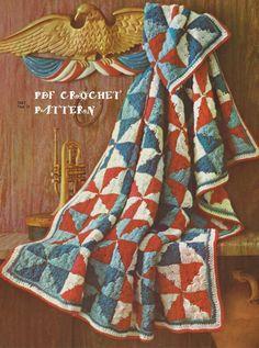👴🏼 Clássico Mosaico ou Retalho em Crochê -  /👴🏼 Classic mosaic or Retail in Crochet -