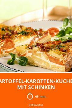 Kartoffel-Karotten-Kuchen mit Schinken - wenn das nicht perfekt zum Osterbrunch passt!