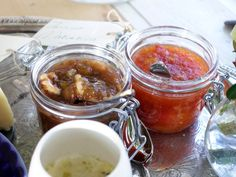Rabarbermarmelad med timjan och valnötter   Recept från Köket.se