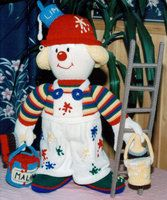 One of my most fav patterns, Jean Greenhowe, I have knitted lots of her clowns :)