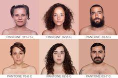 Humanae, um catálogo Pantone de tons de pele | P3