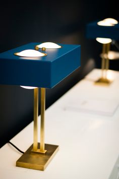 Kernel Table Lamp by Bert Frank
