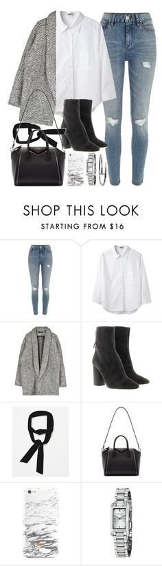 """Outfit for work"" by ferned ❤ liked on Polyvore featuring River Island, Acne Studios, Étoile Isabel Marant, Zara, Givenchy and Burberry"