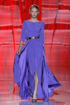 All the Dish on Fashion and Haute Couture Fashion Mode, Look Fashion, Womens Fashion, Evening Dresses, Formal Dresses, Bridal Fashion Week, Purple Fashion, Quinceanera Dresses, Beautiful Dresses