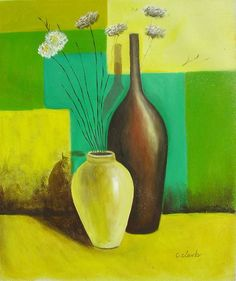 Get hand-painted oil paintings on canvas. Find artwork for sale by your favorite artists here with WORLDWIDE SHIPPING, free in the US! Buy Domain, Best Investments, Oil On Canvas, Hand Painted, Vase, Floral, Stuff To Buy, Painting, Home Decor