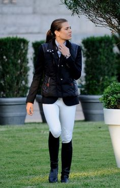 Accomplished equestrian, all around beauty and granddaughter of Princess Grace, Princess Charlotte of Monaco.