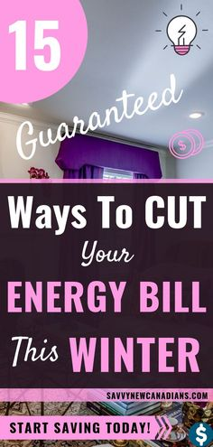 15 Ways to Save on Energy Costs This Winter Want to save money this winter? Check out these 15 guaranteed ways to cut your energy bill and save money easily. Save Money On Groceries, Ways To Save Money, Money Saving Tips, How To Make Money, Money Hacks, Money Tips, Energy Saving Tips, Managing Money, Frugal Living Tips