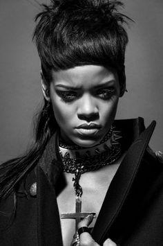 Rihanna for 032C