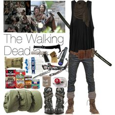 dead polyvore | The Walking Dead || liked on polyvore ️