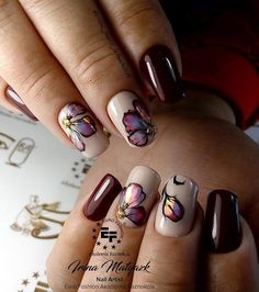Nail Designs For Valentine's Day - Reny styles Beautiful Nail Designs, Beautiful Nail Art, Nail Ink, Basic Nails, Uñas Fashion, Nail Art For Beginners, Tribal Nails, Diy Nail Designs, Stylish Nails