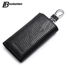 Genuine Leather Car Key Wallets Vintage Key Holder Credit Card //Price: $13.49 & FREE Shipping //     #hashtag3