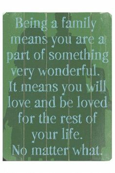 Quotes About Family Love | Visit sunnydaystarrynight.blogspot.com
