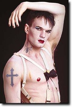 Neil Patrick Harris as the Emcee in Cabaret.