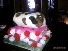 """Hannah's Valentine Box guinea pig """"Spot"""""""