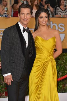 How cute were Matthew McConaughey and Camila Alves at the SAG Awards?