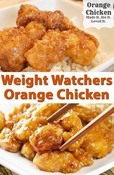 Weight Watchers Orange Chicken Recipe                                                                                                                                                                                 More