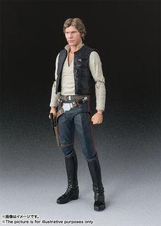 ハン・ソロ BANDAI S.H.Figuarts Han Solo (A New Hope) Action Figure Star Wars