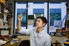 """I love to work on new ideas and develop new kinds of tools to tackle basic questions,"" says PhD student Tim Wang."