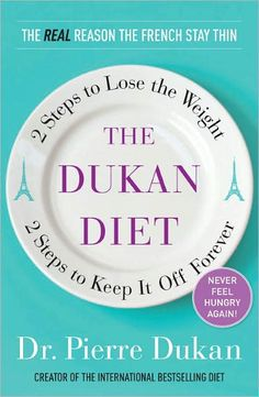 The Dukan Diet... Best diet plan ever... lost 19 pounds on it... stopped for a while, but going back on it again now ;)