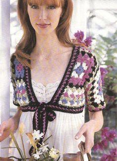 Crochet Today! No 3, Granny Crop Top