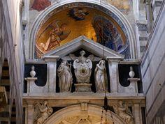 Pisa, Piazza dei Miracoli, Cappella del Sacramento (Cathedral, Chapel of the Holy Sacrament)