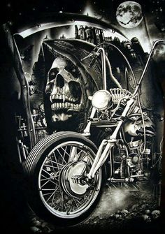 Biker Chicks Dating is the largest biker chicks dating site and most effective biker personal community for single bikers to find motorcycle lovers near you for date or friendship. Motorcycle Tattoos, Biker Tattoos, Motorcycle Art, Bike Art, Harley Tattoos, Women Motorcycle, Tatoo Harley Davidson, Tatto Skull, David Mann Art