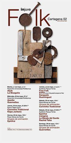 Festivales de Música Injuve - Estudio Pep Carrió