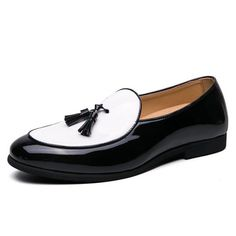 Details about  /Men Low Top Business Shoes Pointy Toe Slip on Work Office Flats Non-slip Party D
