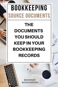 Accounting source documents include checks, invoices, bills, receipts and more, and are produced in the day to day financial activities of businesses; they should be stored in the bookkeeping files whether digital or physical. Accounting Notes, Accounting Classes, Accounting Basics, Accounting Student, Accounting Humor, Online Bookkeeping, Small Business Bookkeeping, Bookkeeping And Accounting, Small Business Accounting