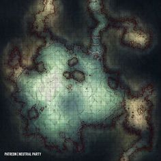Dungeons And Dragons Homebrew, D&d Dungeons And Dragons, Cthulhu, Dnd World Map, Pathfinder Maps, Underground Map, Rpg Map, Adventure Map, Grid