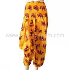 Alibaba Harem Pants Hippie Trousers Rayon Cotton Pant Hmong Ladies Pants Bottom Wear Skirts Baggy Trouser Pajamas Free Size Pantaloon Mens Ladies Kids Wear