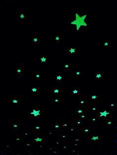 Stars // night // neon // dark // goth // aesthetic //