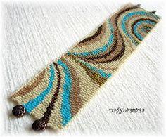 Original pattern: https://www.etsy.com/listing/62247036/cappuccino-peyote-pattern-or-loom?listing_id=62247036_slug=cappuccino-peyote-pattern-or-loom