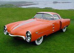 ": Golden Submarine ""Stick Rod"" By Henry Ford 1956 Buick Centurion Flight-Ready! 1954 Pontiac Bonneville Special The -. : Autos y mot Oldsmobile Cutlass, Pontiac Bonneville, Ford Motor Company, Weird Cars, Cool Cars, Strange Cars, Car Photos, Car Pictures, Car Pics"