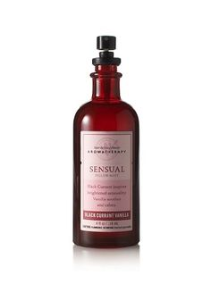 Bath & Body Works Aromatherapy* Black Currant Vanilla* Sensual Pillow Mist  http://www.womenperfume.net/bath-body-works-aromatherapy-black-currant-vanilla-sensual-pillow-mist/