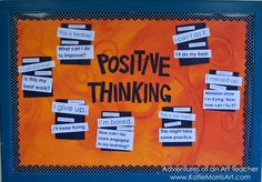 My end of the year bulletin board was inspired by this pin. Can you tell what kind of attitudes we were...