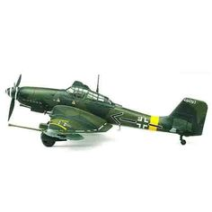 "Aircraft Aero Military Model 1/72 JU87G-2 STUKA ""Kanonen vogel"" #12404"