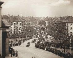 Kong Christian d. 9. s guldbryllup 1937 i København