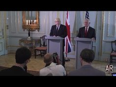 LONDON: 5-26-17. Press Q&A With State Sec. Tillerson & British Foreign S...