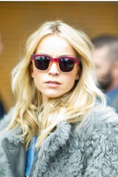 Invest in a pair of statement sunglasses to get spotted on the streets.