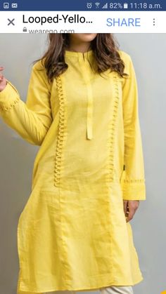 We have a large collection of neck design of kurtis and kameez for ladies. Kurti Sleeves Design, Sleeves Designs For Dresses, Kurta Neck Design, Dress Neck Designs, Blouse Designs, Sleeve Designs, Simple Pakistani Dresses, Pakistani Fashion Casual, Pakistani Dress Design