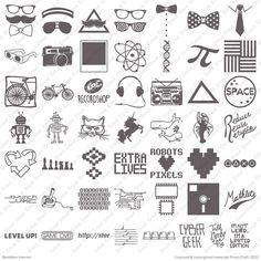 "Cricut® Project Cartridge, Brooklyn Iron-on - Cricut Shop @LeighAnn Summers Durham  (look at the ""Mathlete"" cut and ""Pi"" - next year's math shirts??)."