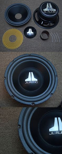 Speaker Sub Grills and Accs: Jl Audio 15W6 Woofer Recone Service Speaker Re-Cone Subwoofer Repair -> BUY IT NOW ONLY: $115 on eBay!
