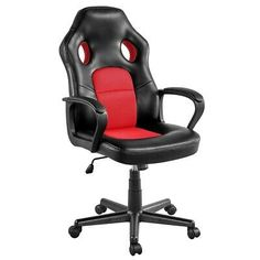 Office Chair Desk Artificial Leather Gaming Chair Adjustable Furniture Seat #affilink Desk Chair, Gaming Chair, Artificial Leather, Furniture, Arredamento