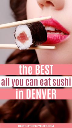 Do you love sushi? Do you love ALL YOU CAN EAT SUSHI even more? Well then you're in luck! Click here for the best all you can eat sushi spots in Denver, Colorado. Denver Sushi l Best Sushi in Denver l Sushi in Denver l Best Sushi Denver l All You Can Eat Sushi l Denvers Best Restaurants l  #Denver #Colorado #DestinationLiveLife Conveyor Belt Sushi, Sushi Menu, Garlic Mayo, Soft Shell Crab, Avocado Fries, The Jetsons, Best Sushi, Leg Work