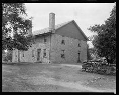 Quaker Meeting House, Winchester vic., Frederick County, Virginia; Francis Benjamin Johnston between 1930 and 1939; Carnegie Survey of the Architecture of the South, Library of Congress Prints and Photographs Division Washington, DC