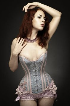 I don't know why, But I have always wanted a corset. I love the way they look and how they just enhance what you've already got!